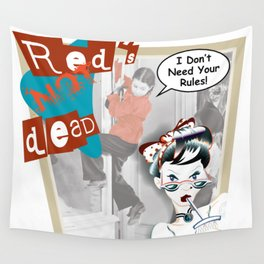 Red's Not Ded Wall Tapestry