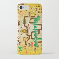 creativity iPhone & iPod Cases featuring Creativity by Tobia Crivellari