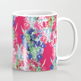 Floral Watercolor Pattern design by #Mahsawatercolor Coffee Mug