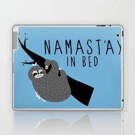 namast'ay in bed sloth Laptop & iPad Skin