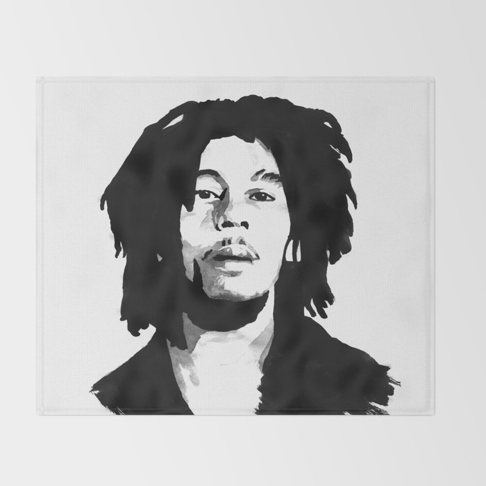 Mr. Marley Throw Blanket