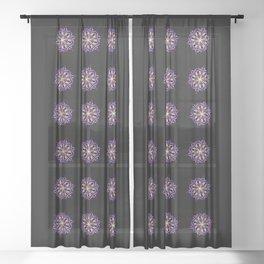 Pastel Bliss Mandala Sheer Curtain