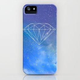 Diamond sky stars colour 2018 s6 coloured art style hot trend popular iPhone Case