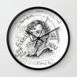 I Am SHER Locked Wall Clock