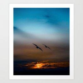 SUNSET -24218/1 Art Print