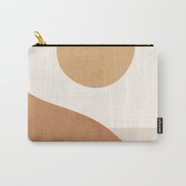 Minimal Abstract Art Landscape 9 Carry-All Pouch