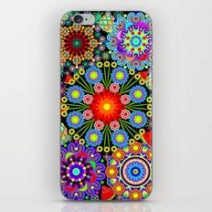 Mandalas & Exotic Fruits Pattern iPhone Skin