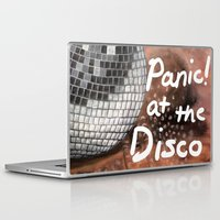 panic at the disco Laptop & iPad Skins featuring Panic! At The Disco by Stephanie Janeczek