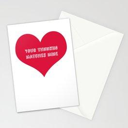"""Thnnkiig"" Stationery Cards"