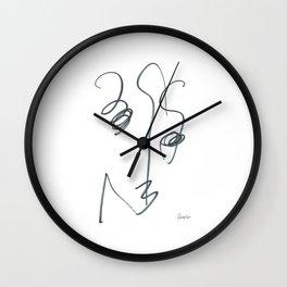 Demeter Moji d16 3-1 w Wall Clock