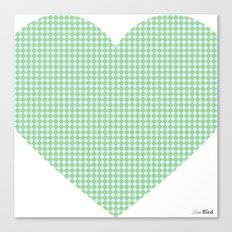 I love you this much... (blue) Canvas Print