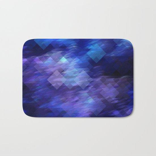 Anemone Wave Pixel Bath Mat
