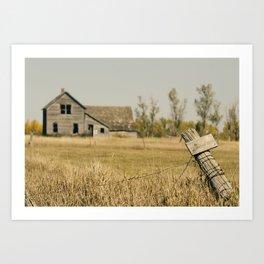 Abandoned South Dakota 2616 Art Print