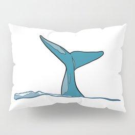 Whale fish fin Pillow Sham
