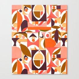 tango in the autumn ... Canvas Print