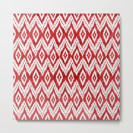Bohemian Christmas - Ruby Metal Print