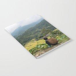 Sa Pa Landscapes I - Vietnam Notebook
