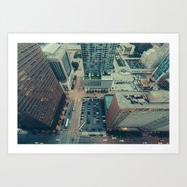 Downtown Chicago Art Print