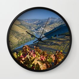 Pinhao in the Vale do Douro Wall Clock