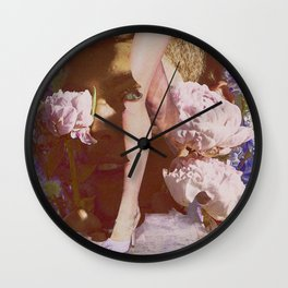Sensitive glance Wall Clock