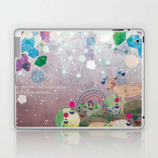Beneath Laptop & iPad Skin