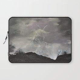 Trouble over the prairies Laptop Sleeve