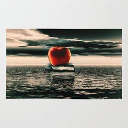 der rote Apfel Rug