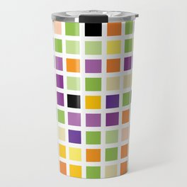 City Blocks - Eggplant #490 Travel Mug