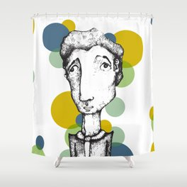 Ordinary People 2 Shower Curtain