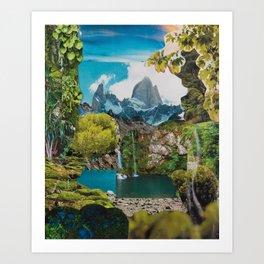 Sueños del Chalten Art Print