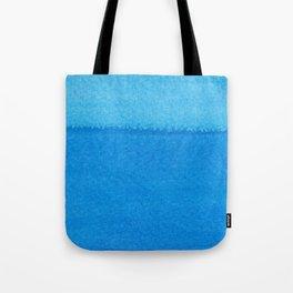 Blue Ocean Up Close Tote Bag