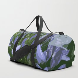 African Lily Duffle Bag