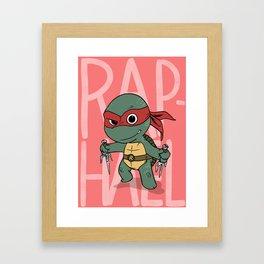 TMNT: Raphael (Cute & Dangerous) Framed Art Print