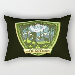Let the Quest Begin Rectangular Pillow