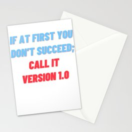 Funny Programmer Data Science Machine Learning AI Statistics Stationery Cards
