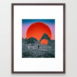 VIRTUL ROLTY (everyday 11.21.16) Framed Art Print