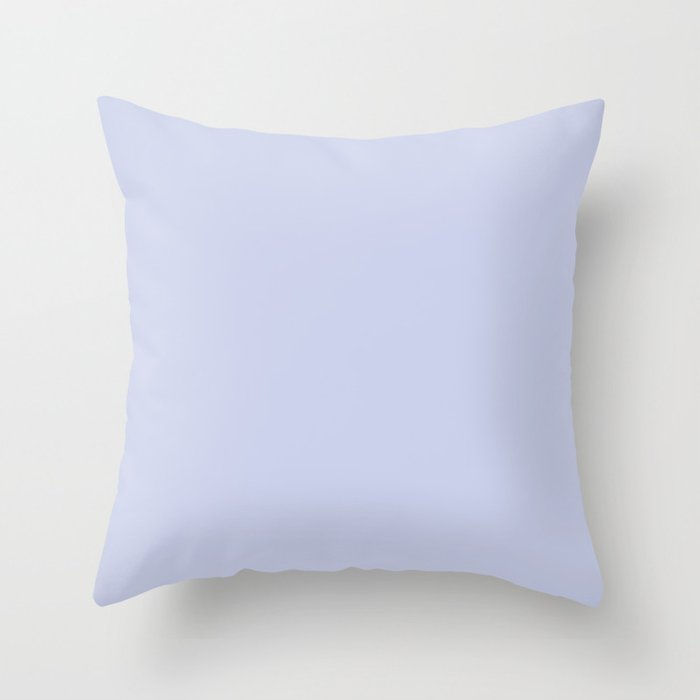 Valspar America Illuminated Violet / Twilight Mist / Carousel Purple Colors of the year 2019 Throw Pillow