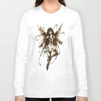 fairy Long Sleeve T-shirts featuring fairy by Vector Art