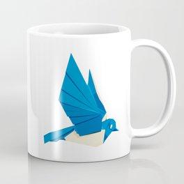Origami Bluebird Coffee Mug