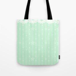 Kawaii Green Tote Bag