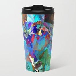 Hawaiian Jungle Batik Travel Mug
