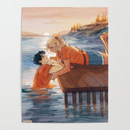 at the shore Poster