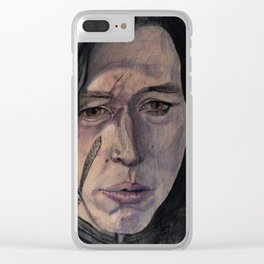 Kylo Ren The War Within Clear iPhone Case