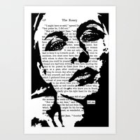 Tell Me Art Print