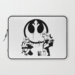 Banksy Troopers Laptop Sleeve