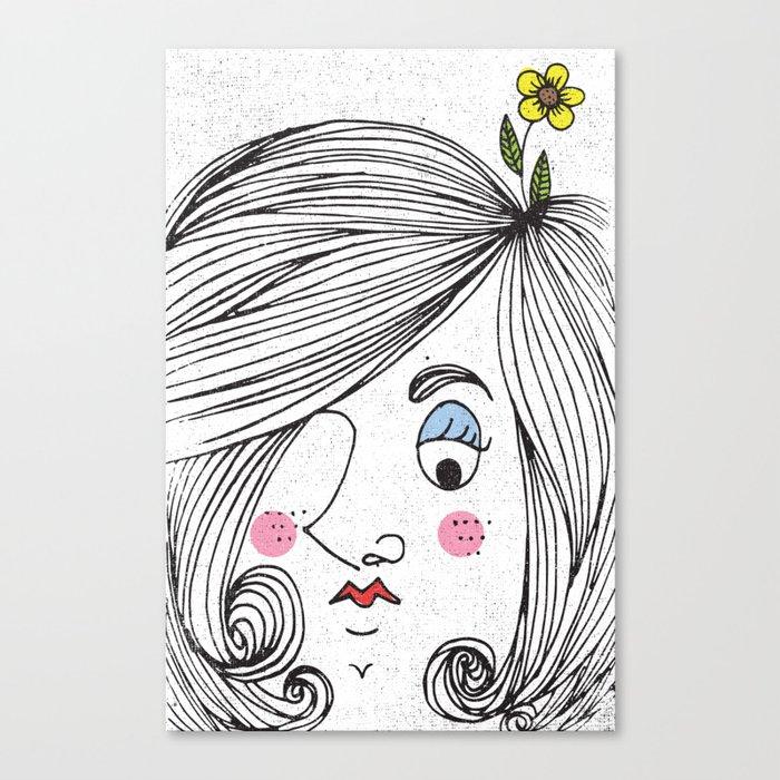 ONE EYE Canvas Print