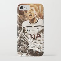 christian iPhone & iPod Cases featuring Christian Eriksen by Max Hopmans / FootWalls
