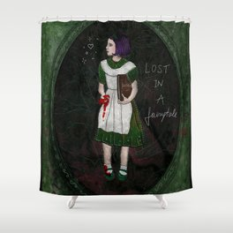 Lost in a fairytale Shower Curtain