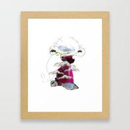 PinkestFemmeFish Framed Art Print