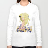 lucy Long Sleeve T-shirts featuring Lucy by carotoki art and love